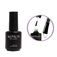 Komilfo No Wipe No UV Top — топ для гель-лака без липкого слоя БЕЗ УФ-фильтров, 15 мл