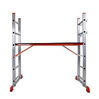 Сходи-поміст алюмінієва Laddermaster Altair A8A6 2x6 сходинок