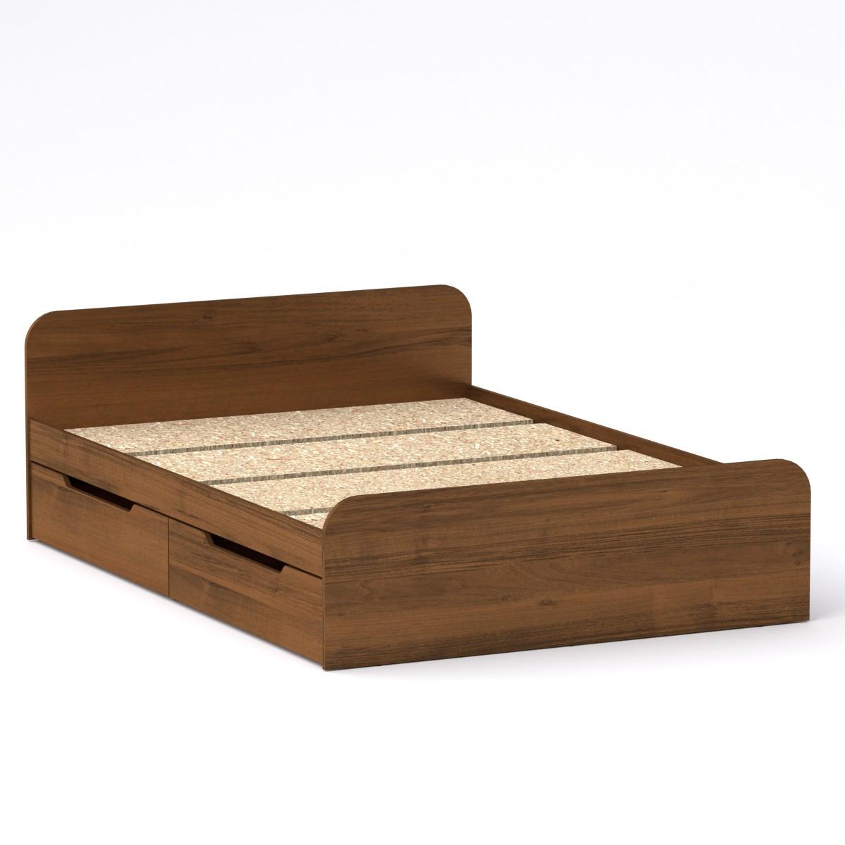 Двуспальная кровать Виола 140 с 4 выдвижными ящиками