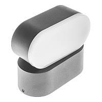 Підсвічування LED фасадна Brille IP54 AL-254/6W NW BK, фото 1