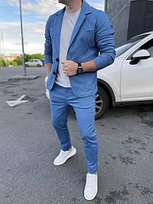 Класичний чоловічий костюм Blue