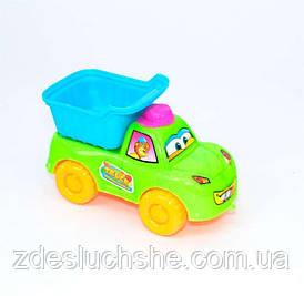 Машина Самосвал на веревочке оранжевая SKL11-184201