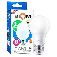 Светодиодная лампа Biom BT-512 A60 12W E27 4500К матовая, фото 1