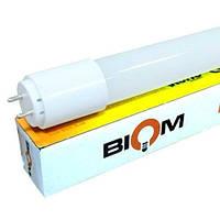 Светодиодная лампа Biom T8-GL-600-9W NW 4200К G13 стекло матовое, фото 1