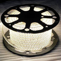 Світлодіодна стрічка JL 3014-120 W 220В IP68 білий, герметична, 5м