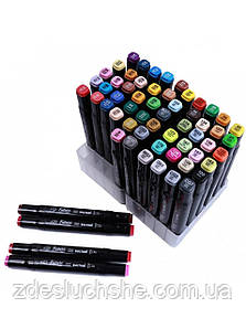 Набір двосторонніх маркерів для скетчинга і малювання на спиртовій основі 36 штук SKL11-289849