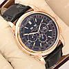 Модные наручные часы Patek Philippe Geneve Gold/Black 1954