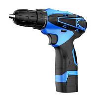 Аккумуляторный шуруповерт Pracmanu (синий) + Доп. Аккумулятор
