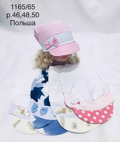 Летняя панамка для девочки р. 46-50, фото 2