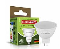 EUROLAMP LED Лампа ЕКО SMD MR16 7W GU5.3 3000K, фото 1