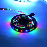 Стрічка світлодіодна Horoz Electric Ren-RGB 5м 12В вологозахищена в силіконі (081-001-0002)