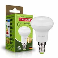 LED Лампа EUROLAMP ЕКО R50 6W E14 3000K, фото 1