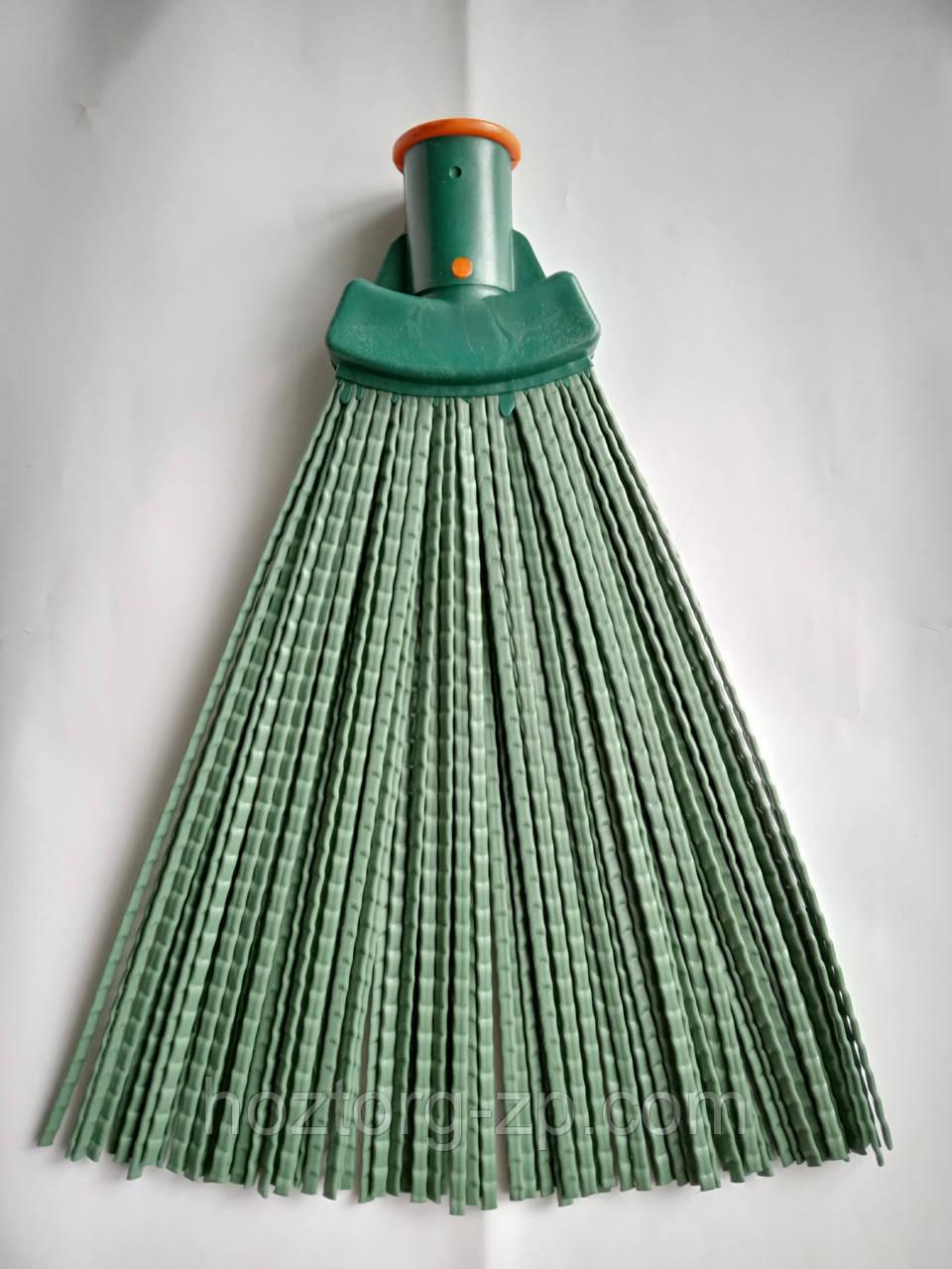 Метла веерная  жёсткая  для  уборки  улиц