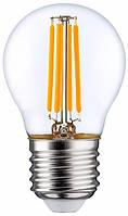 Филаментная світлодіодна лампа Luxel 075-N 4W E27 4000K (075-N 4W)