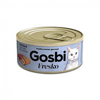 Консерва для стерилизованных котов GOSBI Sterilized Tuna & Shrimp