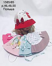 Летняя панамка для девочки р. 46-50