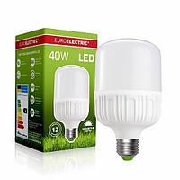 EUROELECTRIC LED Лампа надпотужна Plastic 40W E27 6500K, фото 1