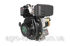 Двигатель дизельный GrunWelt GW178F (вал под шлицы, ручной старт)