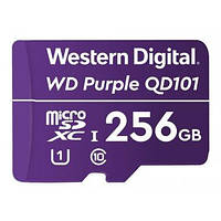 Карта памяти Western Digital MEMORY MICRO SDXC QD101 256GB UHS-I WDD256G1P0C WDC для видеонаблюдения