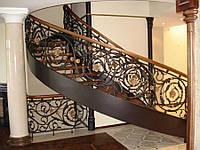 Каталог кованых лестниц