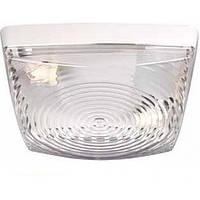 Светильник настенно-потолочный пластиковый Teb Elektrik Classic max 2x60Вт E27 белый (400-000-103)
