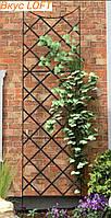 Опора садовая для растений 60х160 см. Опора для цветов металлическая. Садовая шпалера. Садовые шпалеры для роз
