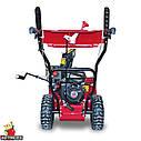 Снігоприбиральник бензиновий WXS0722A Двиг WM170FS/P Recoil start. 560мм, 4+2скорости, фото 3