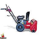 Снігоприбиральник бензиновий WXS0722A Двиг WM170FS/P Recoil start. 560мм, 4+2скорости, фото 5