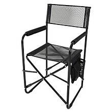 Кресло складное туристическое Vitan Режиссер (840х480х450мм), черное