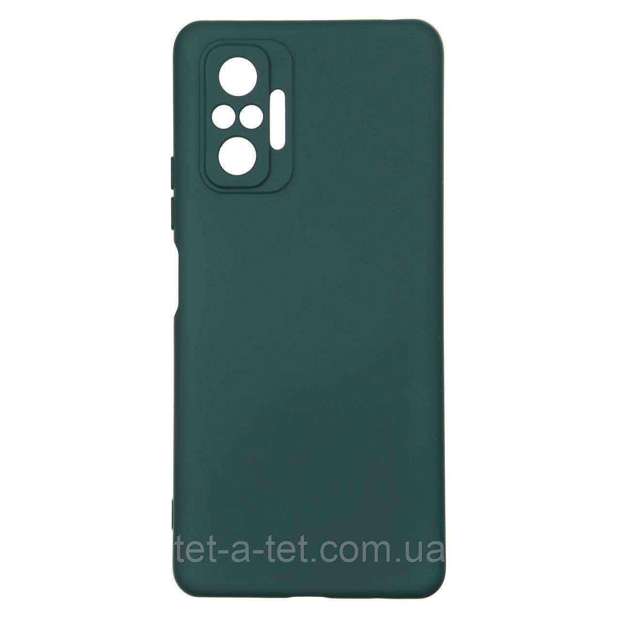 Чехол силиконовый ArmorStandart ICON Case for Xiaomi Redmi Note 10 Pro Pine Green