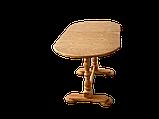 Деревянный стол кухонный овальный обеденный раздвижной, фото 6