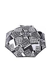 Зонт-автомат Baldinini Черно-серый (45)