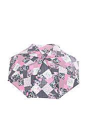 Зонт-автомат Baldinini Черный с розовым (50)