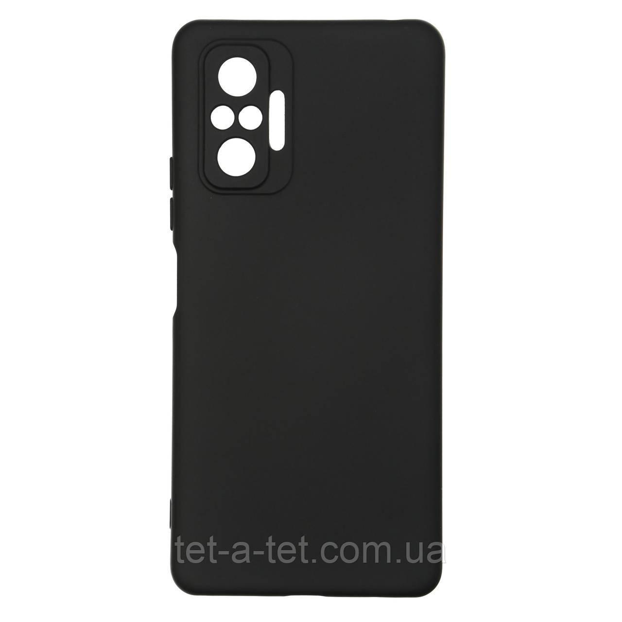 Чехол силиконовый ArmorStandart ICON Case for Xiaomi Redmi Note 10 Pro Black