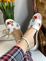 Модні сандалі Hermes (репліка), фото 1