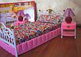 """Набор кукольной мебели Gloria 99001 """"Спальня"""" со светом, кровать, тумбы, светильник Т, фото 5"""