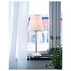 Настольная лампа IKEA ARSTID никелированная Белый (702.806.34), фото 2