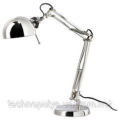 Настольная лампа рабочая IKEA FORSA Серебристый (801.467.63)