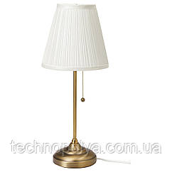 Настольная лампа IKEA ARSTID Белый (303.213.73)