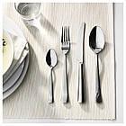 Набор столовых приборов IKEA SEDLIG 24 шт Серебристый (401.553.11), фото 2