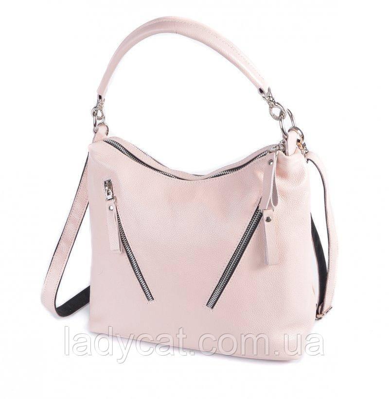 Женская кожаная сумка М280 Pink