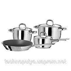 Набор кухонной посуды IKEA OUMBÄRLIG 4 предмета Серебристый (302.864.16)