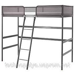 Каркас кровати-чердака IKEA TUFFING 90x200 см Темно-серый (902.994.49)