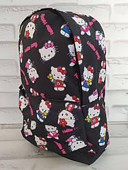 Рюкзак дитячий 30х20х8 см з внутрішнім відділенням і зовнішнім кишенею Р-1012