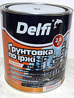 Грунтовка по ржавчине 3 в 1 ПФ-010М Delfi (2,8 кг), фото 1