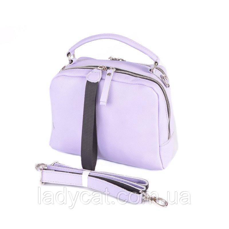 Жіноча шкіряна сумка М272 purple