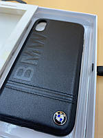 Чехол BMW Leather для Apple Iphone Xr