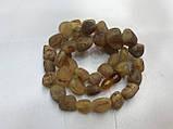 Янтарь натуральный необработанный лечебный янтарные бусы из янтаря янтарные бусы 47 см, фото 2