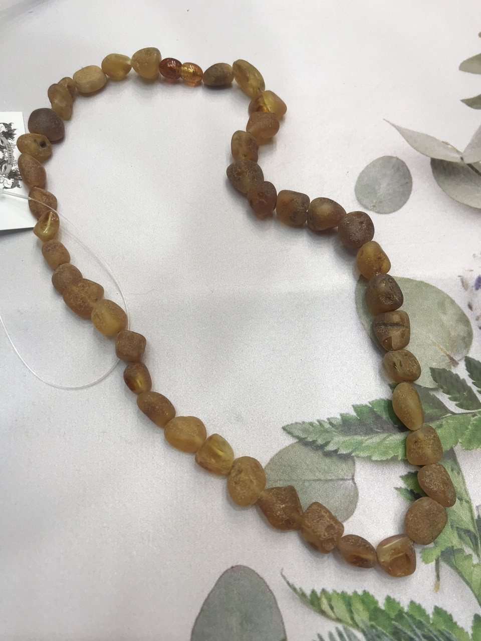 Янтарь натуральный необработанный лечебный янтарные бусы из янтаря янтарные бусы 47 см