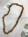 Янтарь натуральный необработанный лечебный янтарные бусы из янтаря янтарные бусы 47 см, фото 4